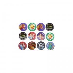 Custom 3D Lenticular Button Badge