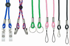 Advertising lanyards for promotion