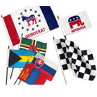 Promo Hand Flags with Logo