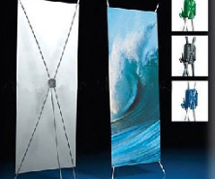 Custo Made Banner Stands
