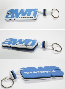 Branded Floating Keyring