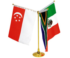 Promotional Cotton Table Flags