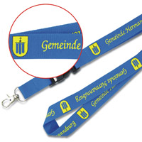 Custom made lanyards with logo