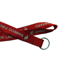 Customized Lanyards with Bamboo Fibers