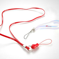 Customized Lanyards of Synthetic Fiber Material