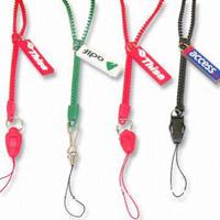 Customized Zipper Lanyards