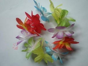 Hawaiian Flower Wristband