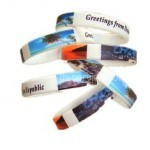 Full Printed Silicone Bracelets