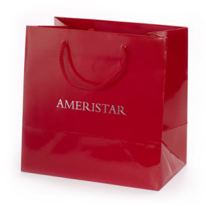 Gloss Paper Bag as Promotional Product