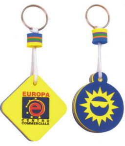 Personalized Floating Keyring