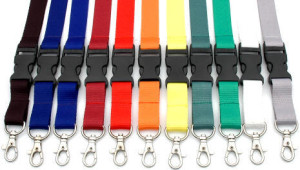 Plain Lanyards in Different Coulours