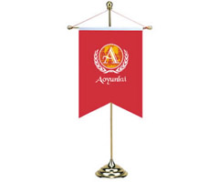 Polyester Personalized Table Flags
