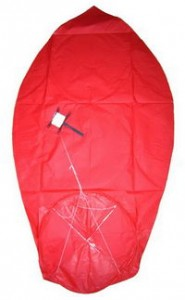Print Sky Lanterns with Safery Rope