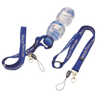 Printed Lanyard as Bottle Holder