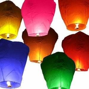 Promo lanterns for advertising