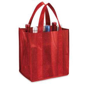 Promotional Reusable Fabric Carrier Bag