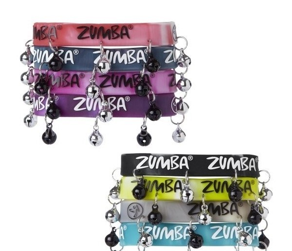 Promotional Rubber Bracelet with Small Bell