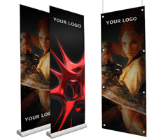 Custom Made Retractable Banners