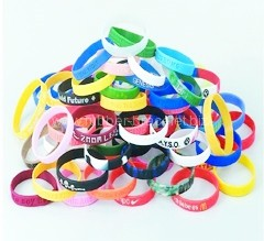 Rubber Bracelets as Promotional Gifts