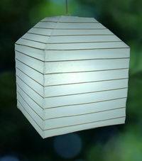 Square customized lanterns