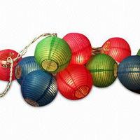 String Fabric Lanterns