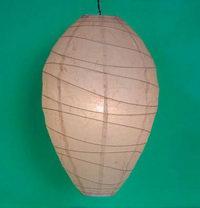 White Cocoon Paper Lanterns