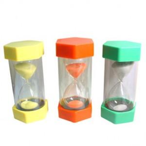 Colored Custom Plastic Hour-glass