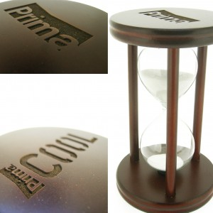 Engraved Personalized Wooden Hourglass