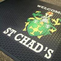 logo door mats