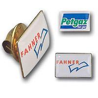 logo lapel pins