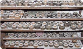 Various customer molds to make silicone bracelets