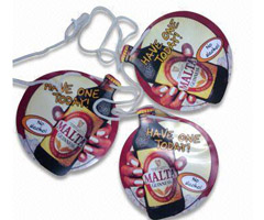 Customized Plastic Round Pennant String