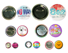 personalized pin badge promotional
