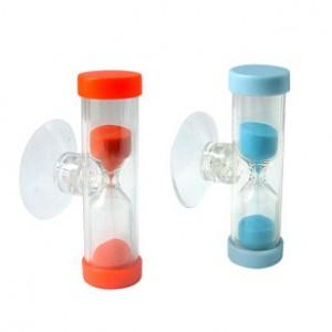 Promo Plastic Sandglass with Sucker