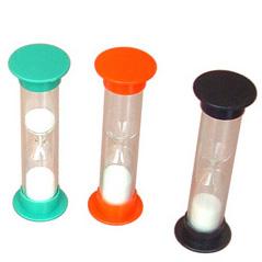 Small Round Promo Plastic Sandglass