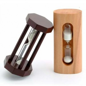 Promotional Wooden Sandglass