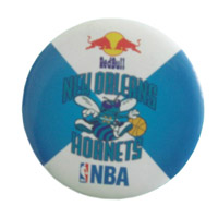 promotional button badge