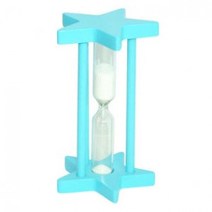 Personalized Wooden Hour-glass in Star Shape