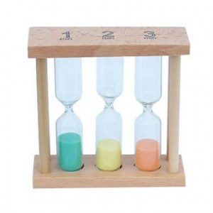 Personalized Wooden Hour-glass Set