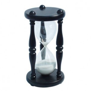 Ancient Personalized Wooden Hour-glass