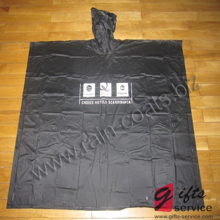 Custom Branded Poncho Raincoat
