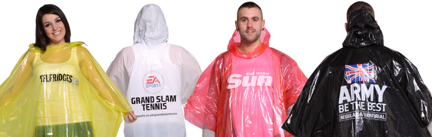 Disposable Promo Raincoat
