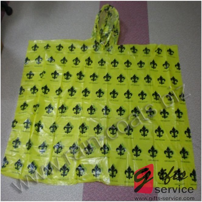 Promo Disposable Poncho Rainwear