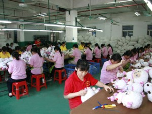 Advertising Plush Toys Production