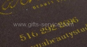Gold Stamping Cleaning Cloths