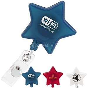 Advertising Plastic Badge Reel
