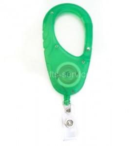 Custom Plastic Carabiner Reel