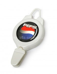 Epoxy Logo Plastic Ski Pass Reel