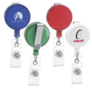 Imprinted Plastic Badge Reel