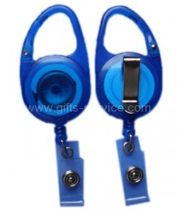 Plastic Clip Carabiner Retractor